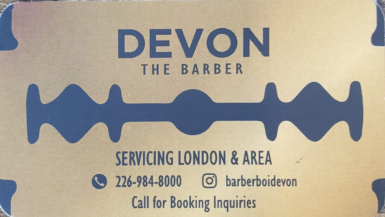 Devons Barbering