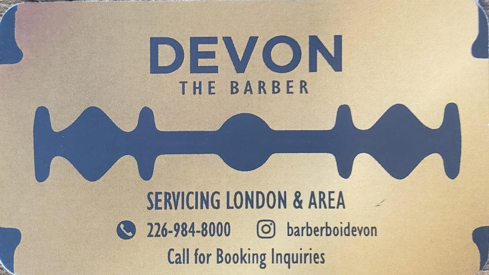 Devons Barbering